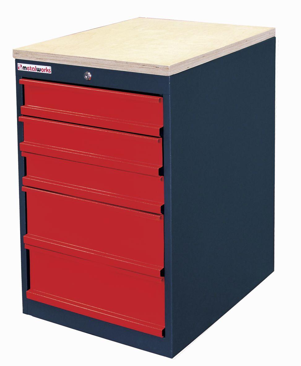 Modular modl mw ladekasten werkplaatsmeubilair for Ladeblok met 4 lades